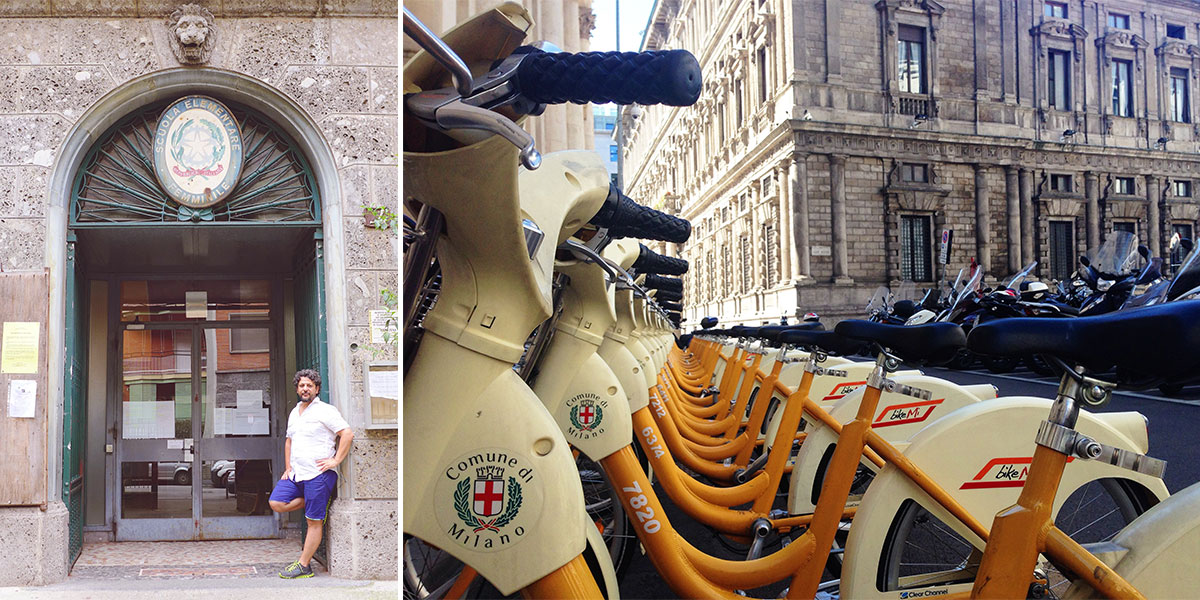 Milano-school-bikes-duo