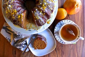 Meyer Lemon + Grapefruit Bundt Heaven
